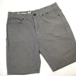 Hurley Shorts - Hurley~'84 Slim~Golf~Casual~Mens Shorts~Flat Front